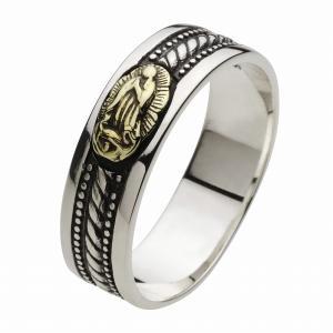 シルバーリング 指輪 メンズ マリア ピンキーリング シルバー925 クリスマス プレゼント|e-standard