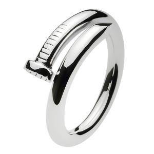 シルバーリング 指輪 メンズ 釘 クギ 工具 フリーサイズ シンプル シルバー925|e-standard