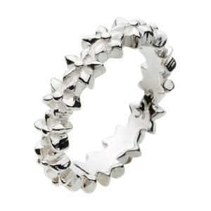 シルバーアクセサリー シルバーリング 指輪 メンズ 星 スター ピンキーリング シルバー925|e-standard