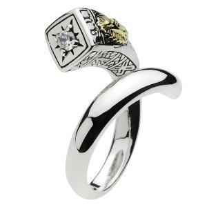指輪 メンズ シルバーリング マリア ジルコニア シルバー925|e-standard