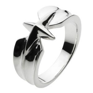 シルバーアクセサリー シルバーリング 指輪 メンズ 星 スター クロス 十字架 シルバー925|e-standard