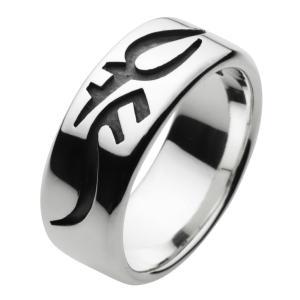 シルバーアクセサリー シルバーリング 指輪 メンズ トライバル ハード シルバー925 e-standard