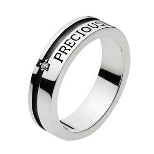 シルバーリング ピンキーリング 指輪 メンズ メッセージ ジルコニア ペアリングにお勧め|e-standard
