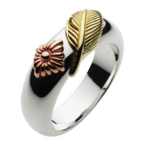 シルバーアクセサリー シルバーリング 指輪メンズ インディアン 太陽 フェザー ネイティブ 真鍮・ブラス シルバー925リング|e-standard