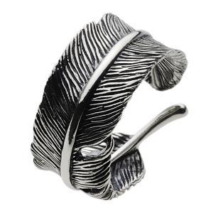 シルバーリング メンズ 指輪 羽 フェザーリング シルバーアクセサリー|e-standard