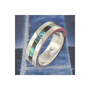 指輪 シルバーリング メンズ シェル 指輪 シルバー ピンキーリング|e-standard