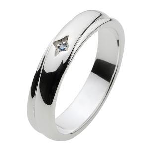 シルバーリング 指輪メンズ ブルーダイアモンド|e-standard