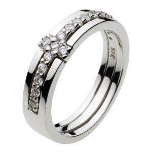 シルバーアクセサリー クロスシルバーリング 指輪メンズ ペアリングに人気 シルバー925リング メンズピンキーリング 男性用 レディース|e-standard
