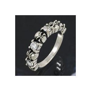 スカルリング シルバー925 指輪メンズ ドクロ|e-standard