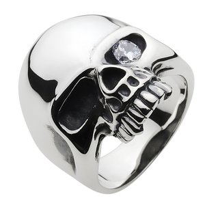 シルバーリング ドクロ スカルリング メンズ 指輪 メンズリング|e-standard