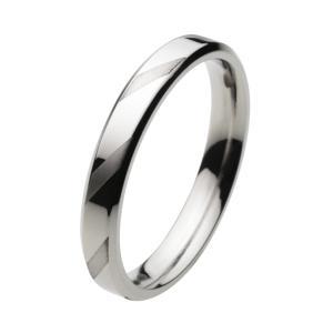 ステンレス 指輪 ステンレスリング メンズ ツートン仕上げ カジュアル|e-standard