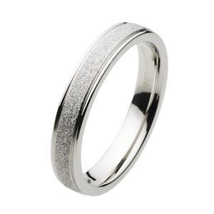 ステンレスリング 指輪 ホワイト メンズ レディース ペアリングにもおすすめ|e-standard