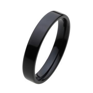 ステンレスリング 指輪 メンズ ブラック ピンキーリング|e-standard