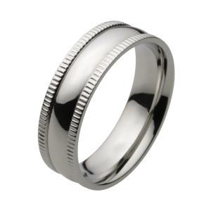 ステンレス 指輪 ステンレスリング メンズ シンプル 柔らかなフォルム|e-standard