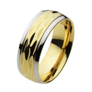 ステンレス 指輪 ステンレスリング メンズ レディース ゴールド 金色|e-standard