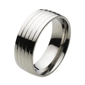 ステンレスリング 指輪 メンズ シンプル アクセサリー|e-standard