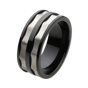 ステンレス 指輪 ステンレスリング メンズ メカニカルデザイン 回転ギミック e-standard