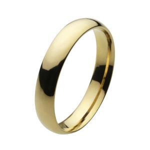 ステンレスリング 指輪 メンズ ゴールドカラー シンプル ピンキーリング|e-standard
