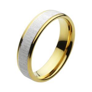 ステンレスリング 指輪 メンズ ゴールドカラー ピンキーリング|e-standard