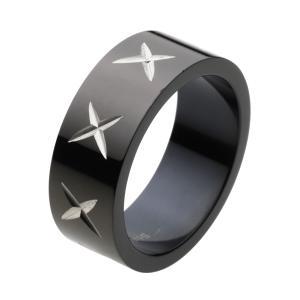 ステンレスリング 指輪 ブラック 黒|e-standard