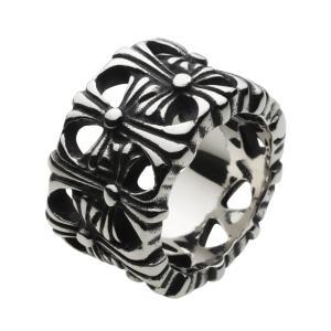 スレンレスリング 指輪 メンズリング ゴシッククロス 十字架|e-standard