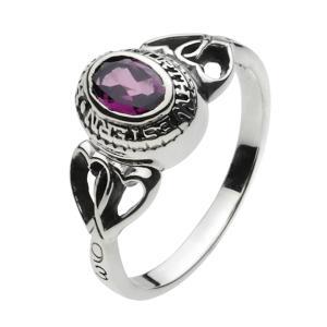 シルバーアクセサリー シルバーリング 指輪メンズ ガーネットパワーストーンリング メンズピンキーリング 指輪シルバー925リング|e-standard