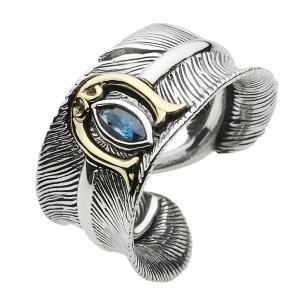 フェザーリング シルバー925 指輪 メンズ 馬蹄 ネイティブアクセ e-standard