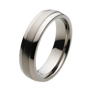 ツートン仕上げ チタンリング 指輪 メンズ アクセサリー e-standard