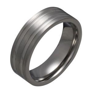 指輪 メンズ チタンリング シンプル|e-standard