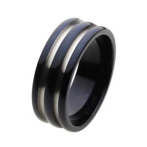 指輪 チタンリング ブラック 黒 指輪|e-standard