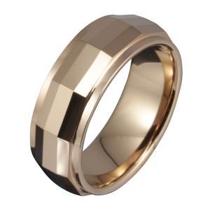 タングステンリング メンズ 指輪 シャンパンゴールド ピンクゴールド カラー|e-standard