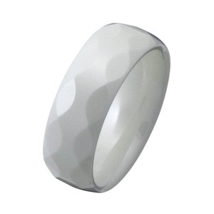 セラミックリング 指輪 白 ホワイト e-standard