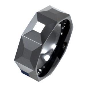 セラミックリング 指輪 ブラック 黒 e-standard