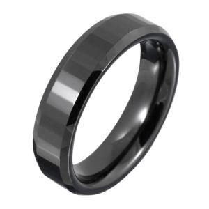 セラミックリング 指輪 ブラック 黒|e-standard