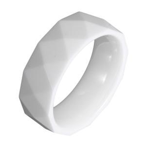 セラミックリング 指輪 白 ホワイト|e-standard
