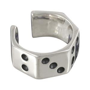 イヤーカフ メンズ ダイス シルバー925 シルバーイヤーカフス メンズ|e-standard