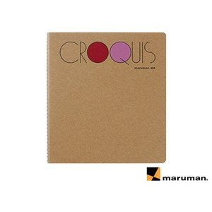 マルマン maruman / スケッチブック CROQUIS BOOK クロッキーブック S・M・L...