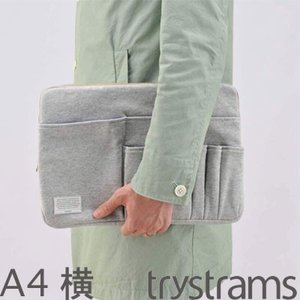 商品名 バッグインバッグ trystrams CASE SERIES トライストラムス A4サイズ ...