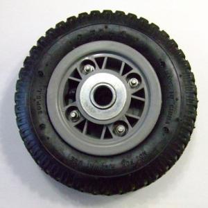 アルミ前輪自在ハウスカーAK-46用のエアータイヤ