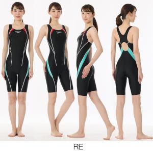 スピード SPEEDO 競泳水着 レディース FLEX Σ フレックスシグマ ウィメンズ セミオープンバック ニースキン SCW11961S|e-stroke|17