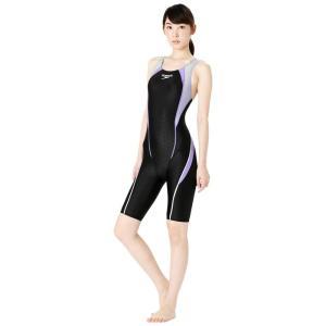 スピード SPEEDO 競泳水着 レディース FLEX Σ フレックスシグマ ウィメンズ セミオープンバック ニースキン SCW11961S|e-stroke|05