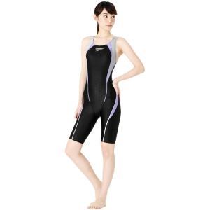 スピード SPEEDO 競泳水着 レディース FLEX Σ フレックスシグマ ウィメンズ セミオープンバック ニースキン SCW11961S|e-stroke|07