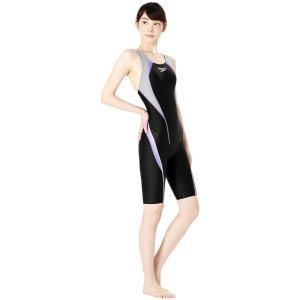 スピード SPEEDO 競泳水着 レディース FLEX Σ フレックスシグマ ウィメンズ セミオープンバック ニースキン SCW11961S|e-stroke|08