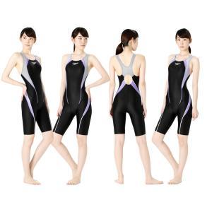スピード SPEEDO 競泳水着 レディース FLEX Σ フレックスシグマ ウィメンズ セミオープンバック ニースキン SCW11961S|e-stroke|09
