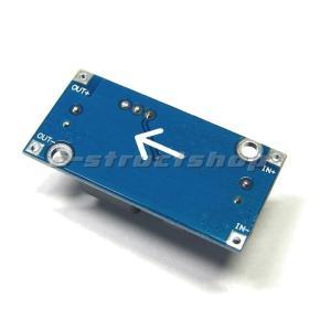 【送料無料】 ミニサイズ 降圧型 DC-DC コンバータ モジュール 出力1.25〜35V 可変  最大3A コンパクトサイズ ステップダウン デコデコ DCDC コンバーター|e-struct|02