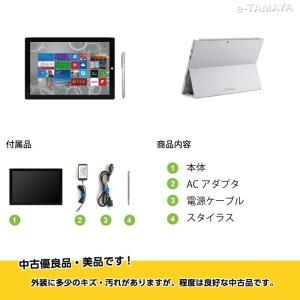 【訳あり・送料無料・3ヶ月保証・中古タブレットPC】Microsoft Surface Pro3/Windows 8.1 Pro (64bit)/Core i5/128GB SSD|e-tamaya|03