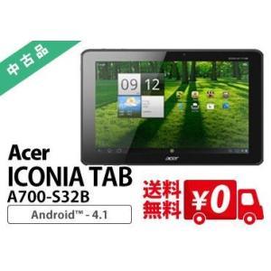 【送料無料・3ヶ月保証・中古タブレットPC】 Acer ICONIA TAB A700-S32B/Android 4.1.1 (64bit)/NVIDIA Tegra 3/HDD32GB SSD|e-tamaya