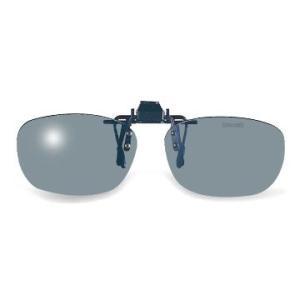眼鏡の上から取り付けるだけのクリップオンシリーズ!偏光レンズを採用しているので、ギラついた反射光を抑...