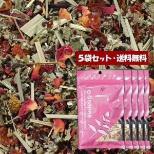 【送料無料】「毎月つらいかぐや姫」5袋セット  20包 (5包入×5) ティーバッグブレンドハーブティー【単独発送(同梱不可)】|e-tisanes