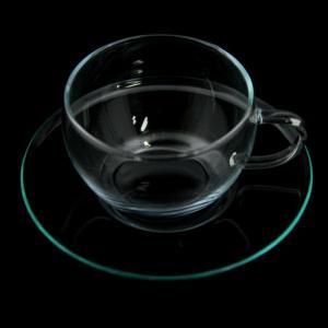 ロングセラーのハーブティー用カップ【セレック/ガラスカップ&ソーサー GCS-1(クリアー)】|e-tisanes|02